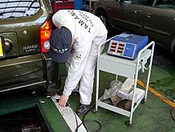輸入車 整備 玉野自動車 ボッシュカーサービス 診断機