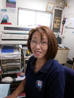 輸入車 整備 玉野自動車 スタッフ 小倉聖美 サービスフロント 保険担当